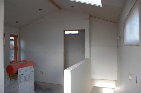 bedroom from top of the landing